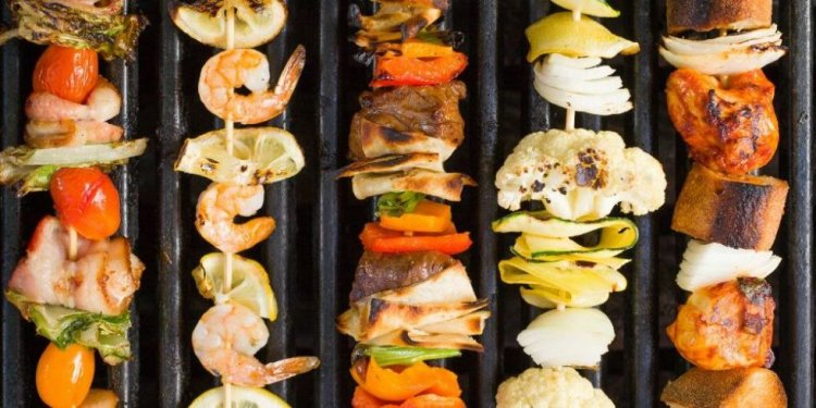 15 Easy BBQ Skewer - Grilled