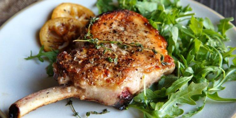 Recipe for seared pork chops