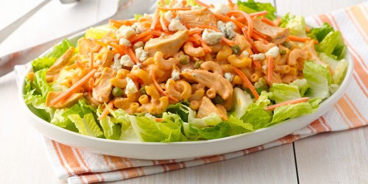 5. Buffalo Chicken Pasta Salad