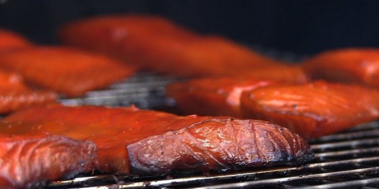 1+ images about BBQ Salmon