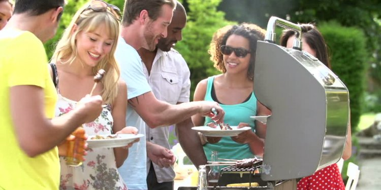 Barbecue party Stock Videos