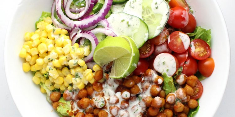 BBQ Chickpea Salad - it