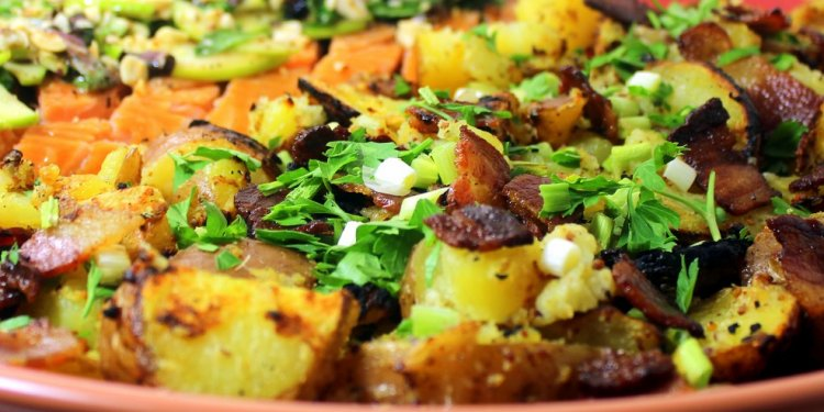 Mustard Aioli Potato Fritatta