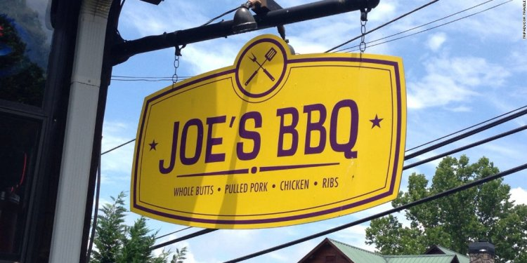 BBQ joint in North Georgia is