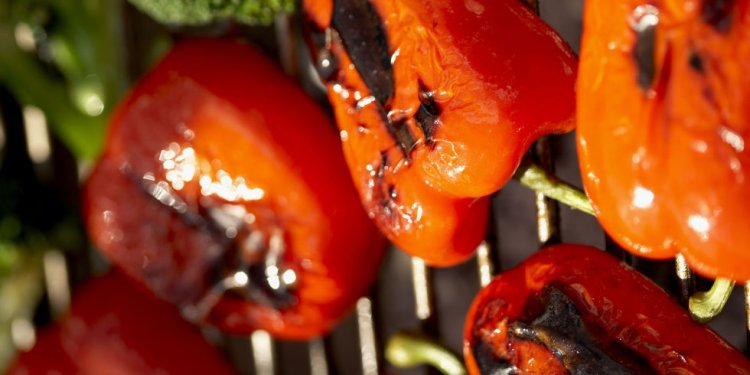 Easy Grilled Peppers Recipe