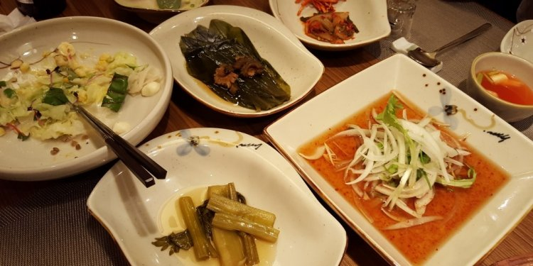 Most famous Korean dishes