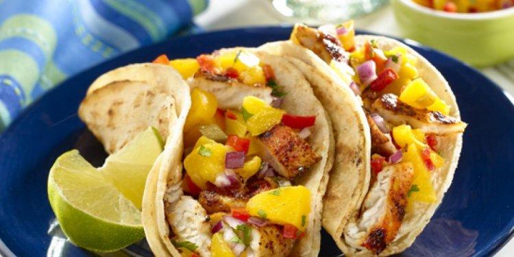 GOYA Foods Grilled Fish Tacos