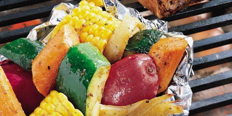 Grilled Vegetable Medley Foil