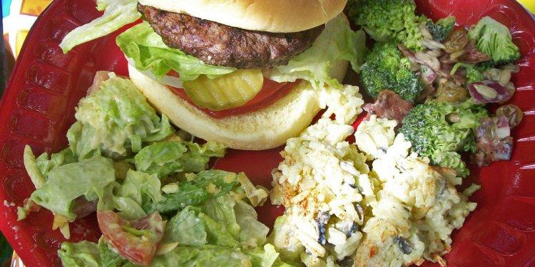 Hamburger Salads