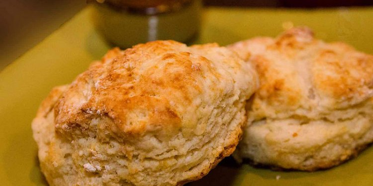 Buttermilk Biscuits with Sorghum Drizzle $5