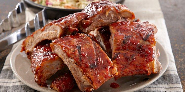 Mesquite BBQ Pork Ribs