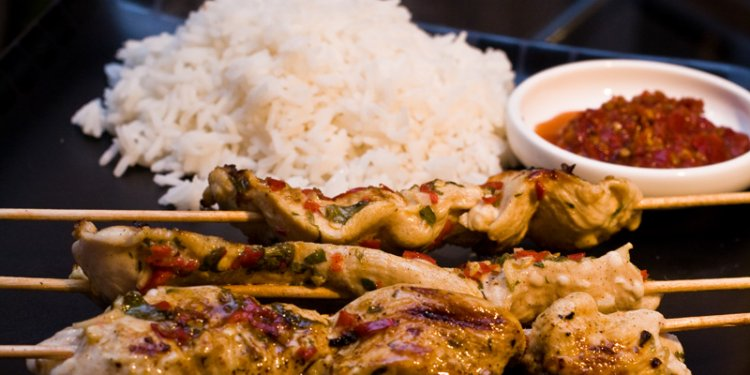 Mortens delicious chicken satay