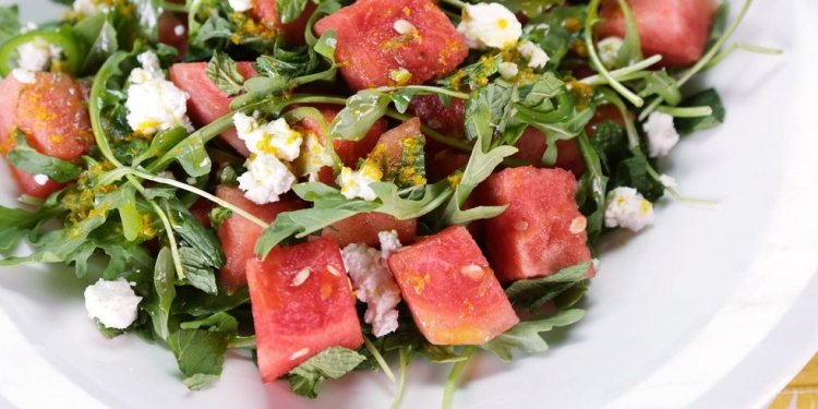Spicy Watermelon Salad Recipe