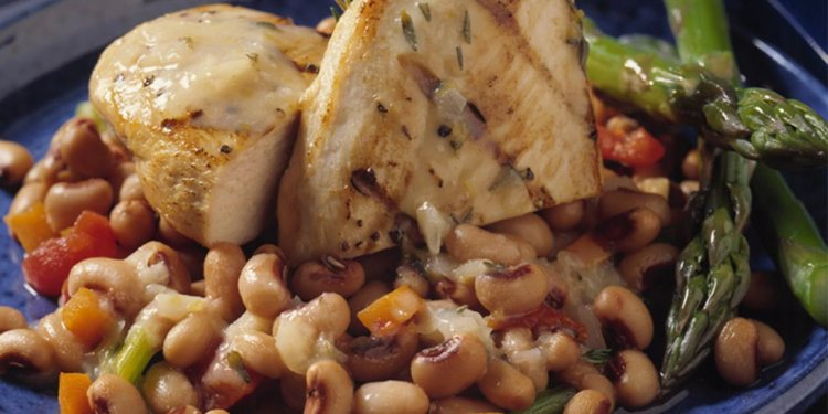 Greek Chicken and Beans