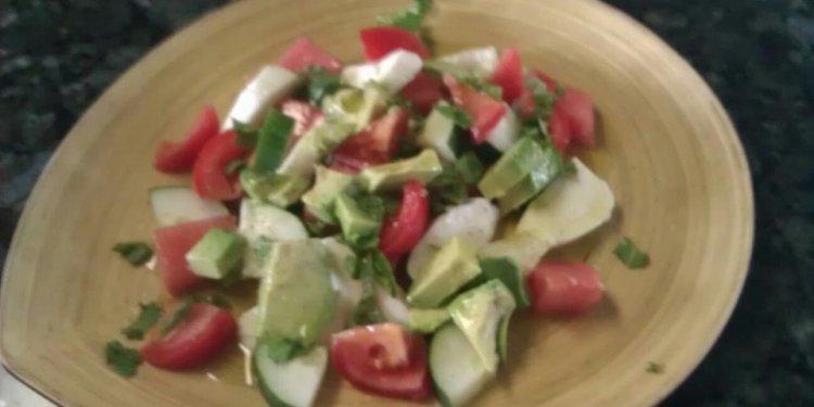 Watermelon, Mint, Avocado