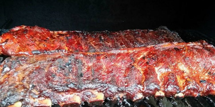 BBQ Ribs Dinner party Menu