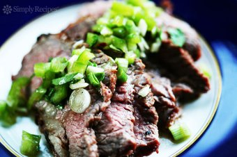 Grilled Tri Tip with Bell Pepper Salsa