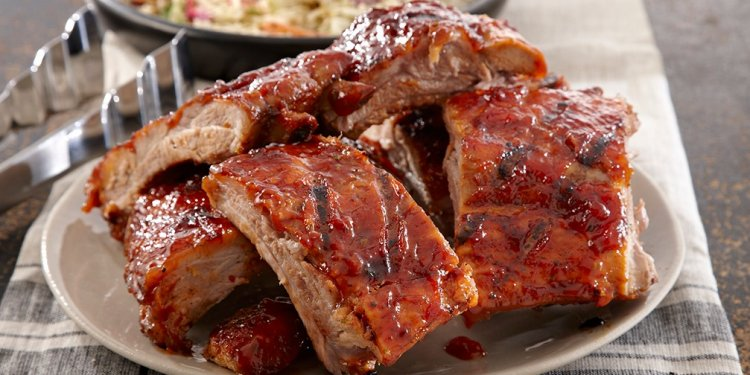 What to served with BBQ pork ribs?