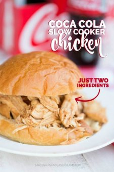Slow Cooker Coca Cola Chicken Recipe