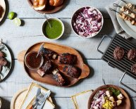 Upscale BBQ Menu ideas
